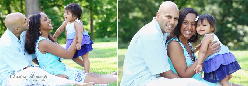 family photo session at green spring gardens in alexandria va