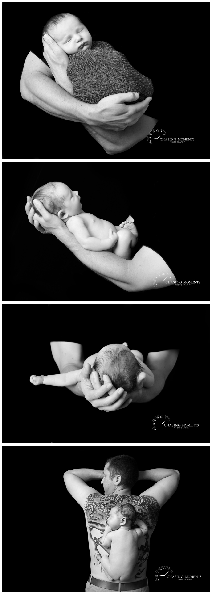 ashburn va newborn photographer_black and white