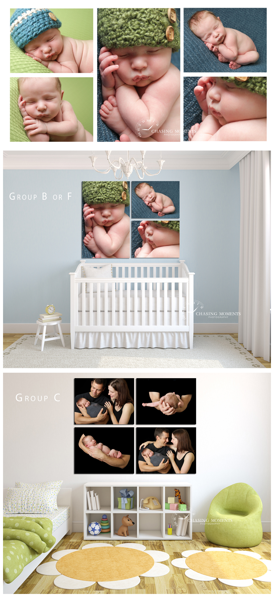 ashburn va newborn photographer_wall art